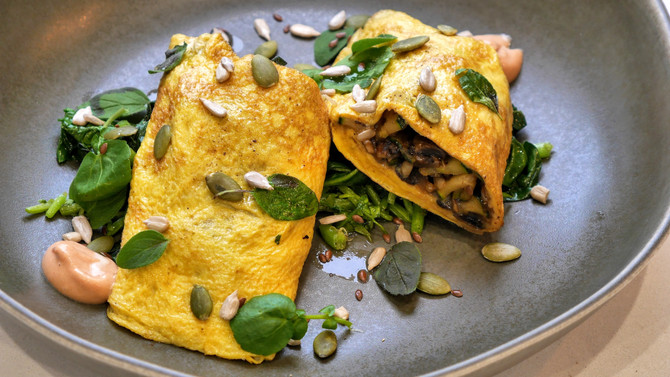 Pre-workout Omelette