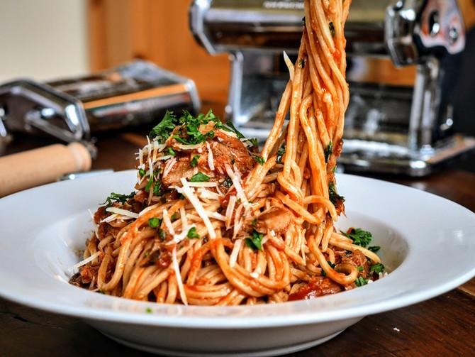 Smoked Mackerel Spaghetti