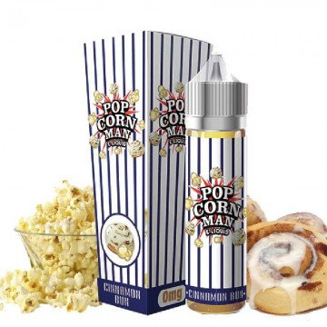 Cinnamon Bun 50ml Pop Corn Man