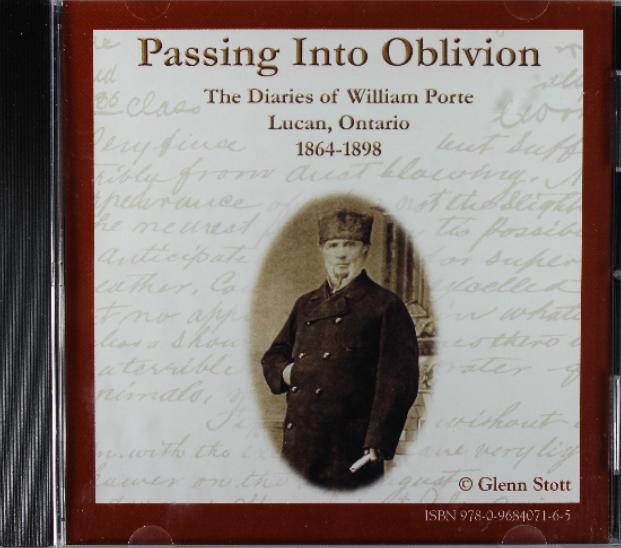 Passing into Oblivion: The Diaries of William Porte - $15.00