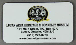 Donnelly Museum Magnet - $1.00