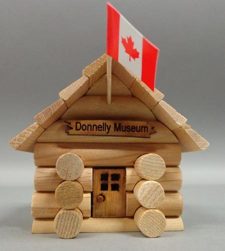 Miniature Log Cabin - $15.00