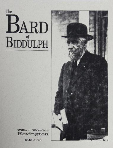 The Bard of Biddulph - $18.00