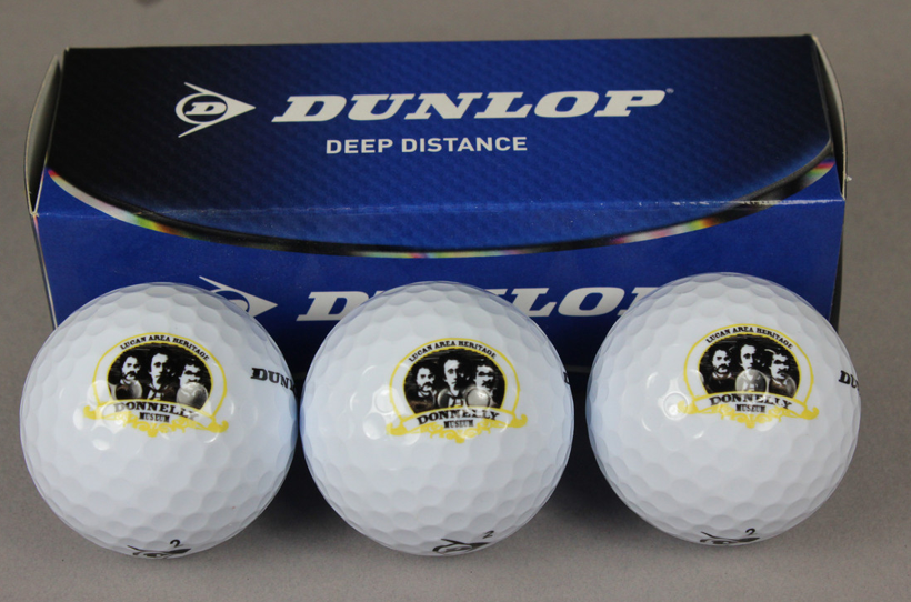Donnelly Museum Golf Balls - $10.00