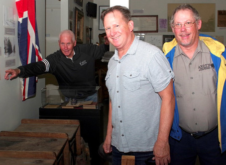 DONNELLY DESCENDANTS MEET AT MUSEUM FILLED WITH FAMILY'S HISTORY