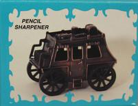 Antique Finished Die-Cast Miniature Stage Coach Pencil Sharpener - $5.00