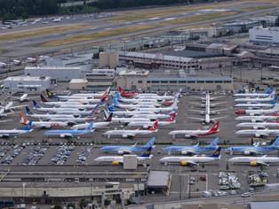 Le 737 MAX plombe les comptes de BOEING.