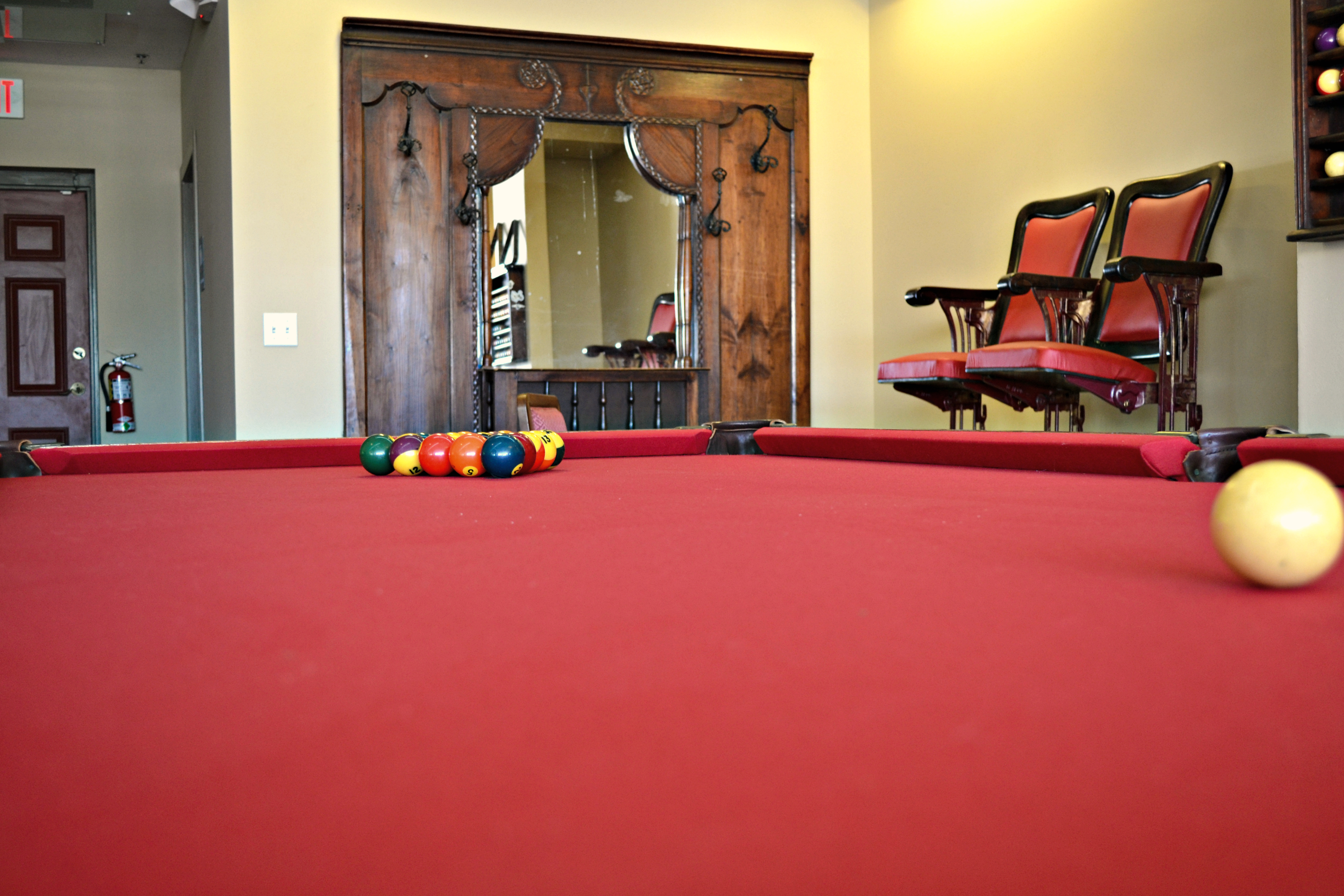 Enjoy A Game of Pool while you wait!