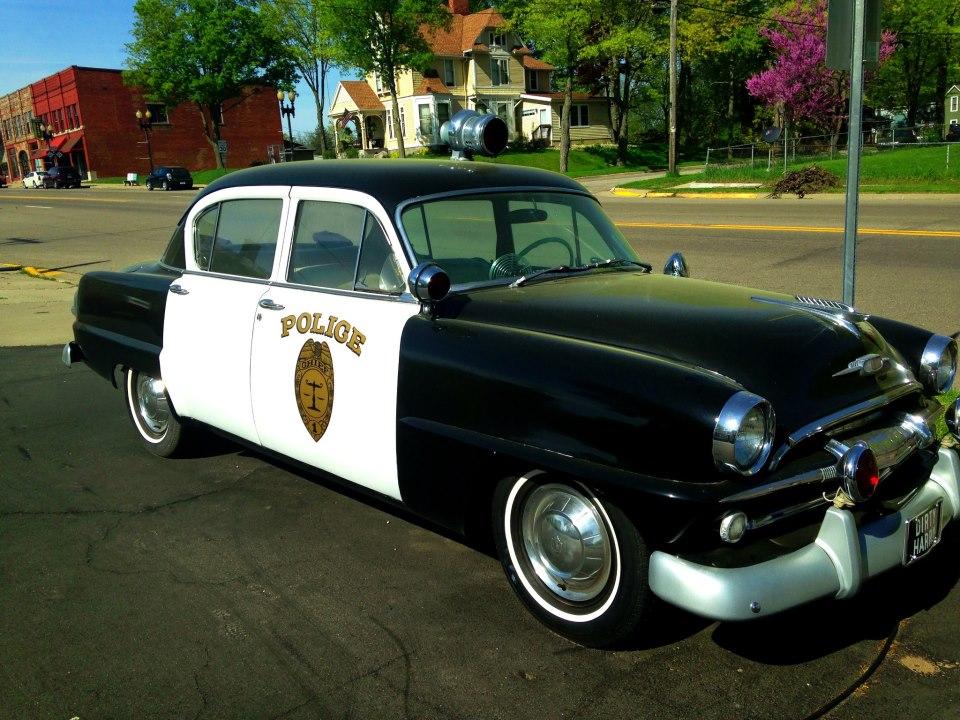 Classic Police Cruiser