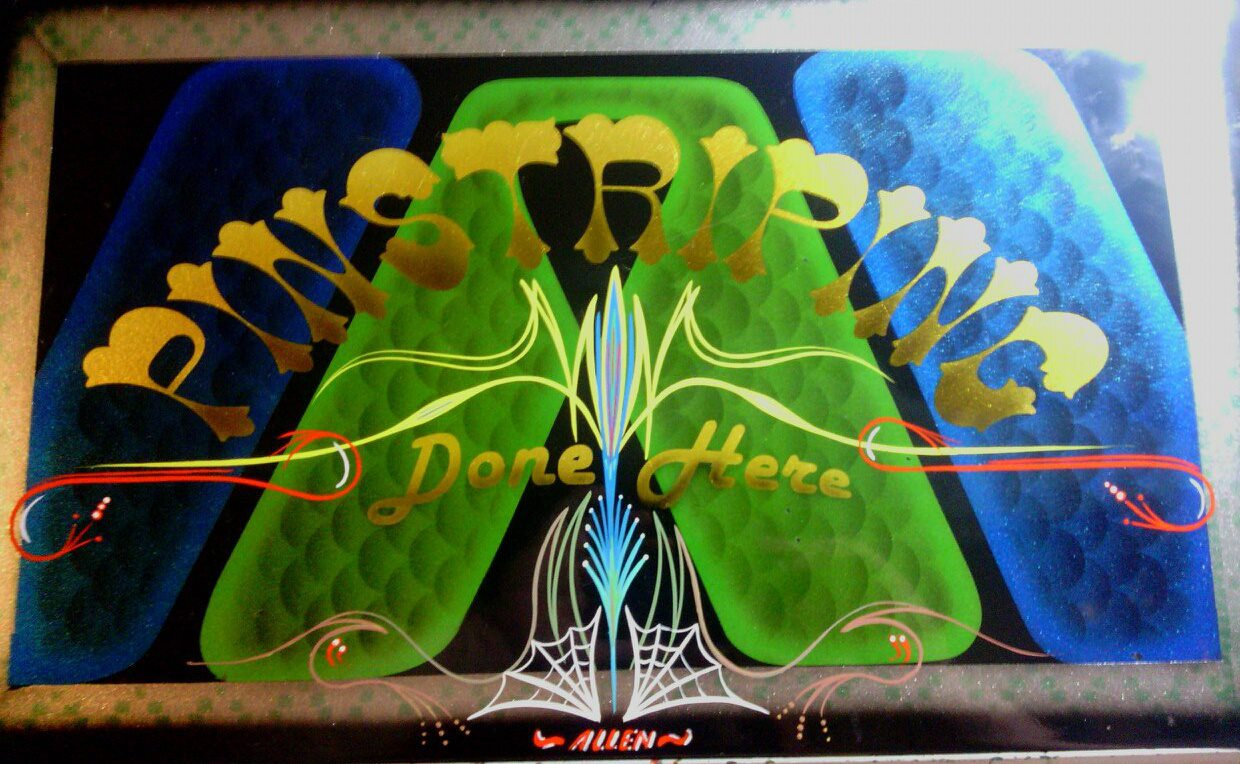 Pinstriping By Allen