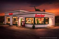 Night at Sinclair Station