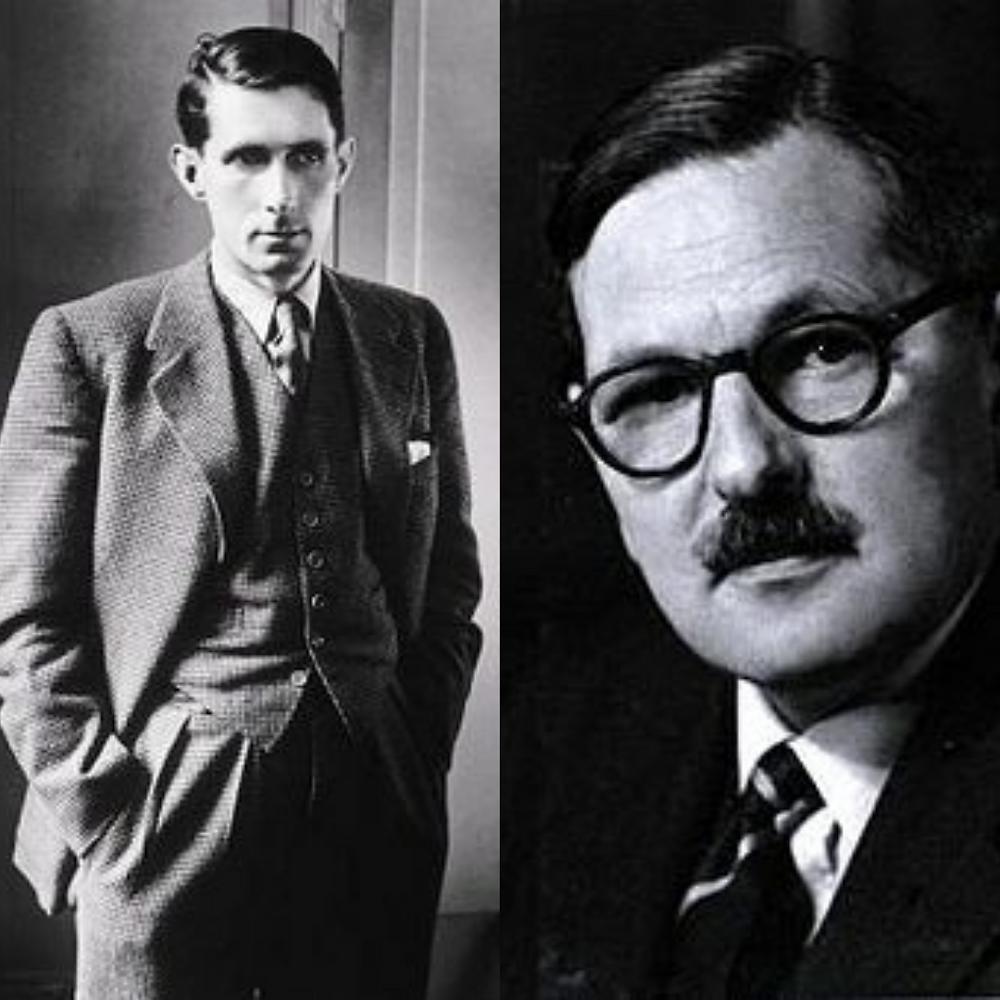 Sir Roland Penrose & Dr. Hugh Cott