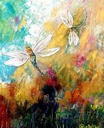 Maria Kalatzi Nature Celebrates Acrylic