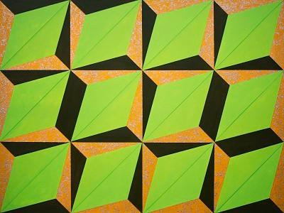 Illusion 9-23-19 Mixed Media on Canvas 3