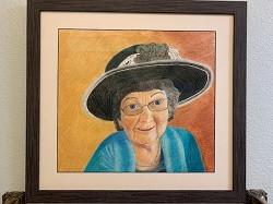 Grandma Ginny 21.5 x 20in NFS Lynn Sande