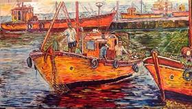 Juan Carlos Boxler Fishing Boats on the
