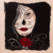 Yazmin Belcerra Silencio Acrylic on Canv