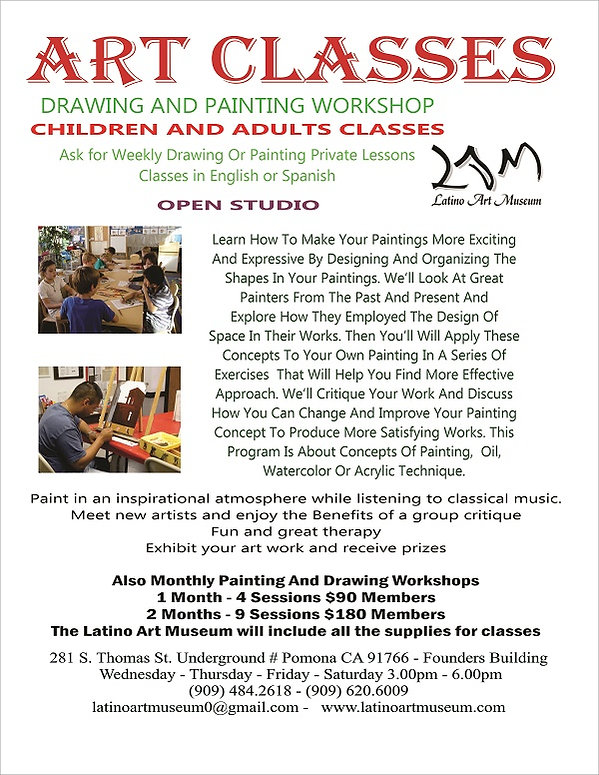 CHILDREN AND ADULTS CLASSES with prices
