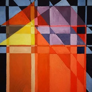 Brit Knoff Refection Acrylic on Canvas 4