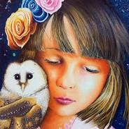 Rigo Art Destello, Rigoberto Castro, Oil on Canvas, 40 by 50cm, Mexico.