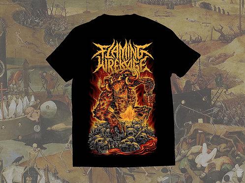 Flaming Wrekage Demon T-Shirt