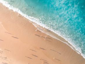 海辺歩きは心にゆとりを作ります。