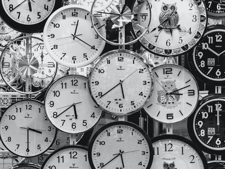 毎日時間がない!という人へお奨め!4つの改善方法。