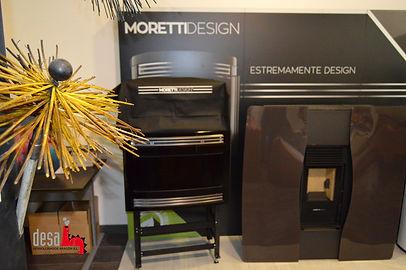 Instalación Chimenea Moretti Design en Zaragoza
