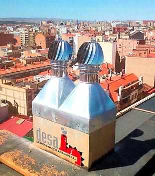 Deshollinados Chimeneas Limpieza Furanflex Aragón Reparación