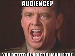 Can you handle your audience better than anyone else?