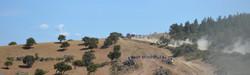Italy Auto bergauf panorama