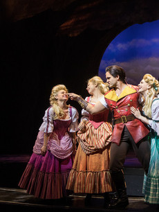 Gaston and his Silly Girls