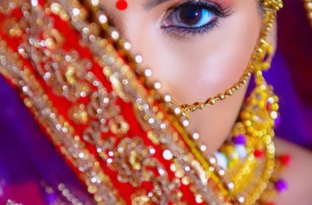 One flawless Bride Bhavika on her weddin