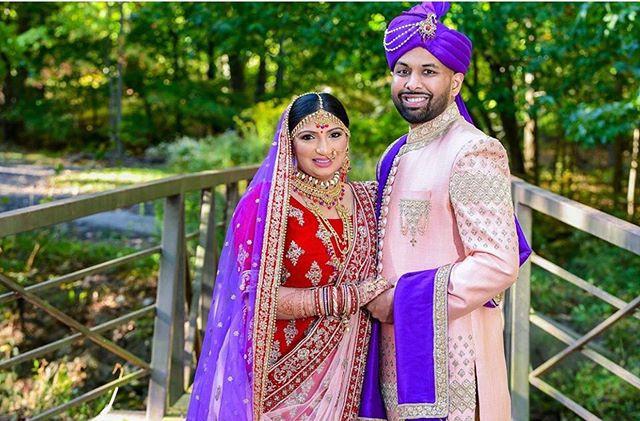 Bhavika + Palak wedding ceremony look———