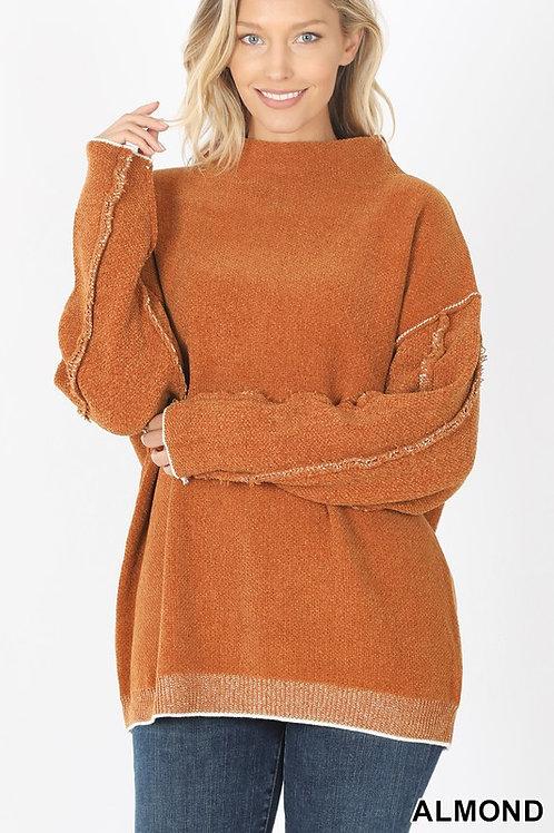 Sienna Mock Neck Sweater