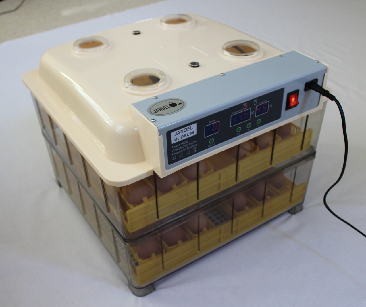 Janoel Model 96 Egg Incubator