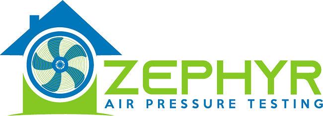 Air leakage test Zephyr logo