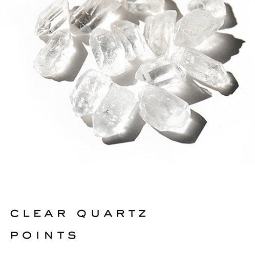 3 Clear Quartz Point - small