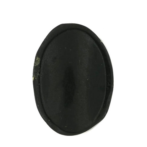 Black Tourmaline Worry Stone