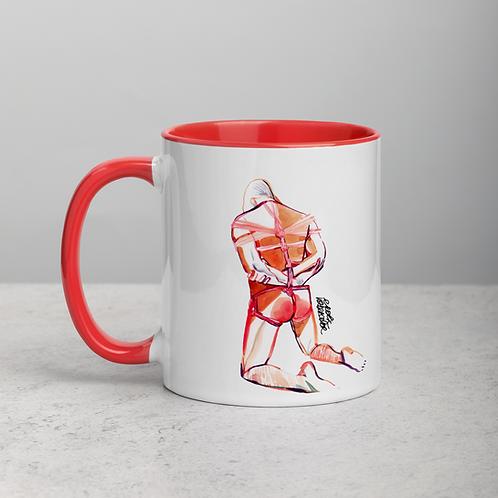 Ceramic Mug with Color Inside n.4