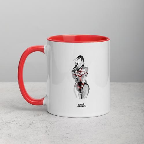 Ceramic Mug with Color Inside n.7