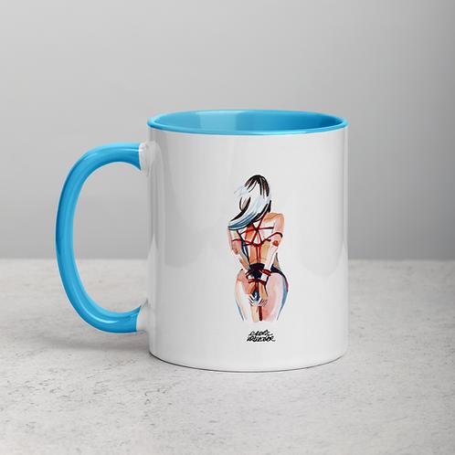 Ceramic Mug with Color Inside n.6
