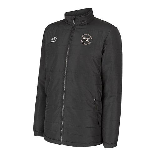junior Sirocco Works FC Umbro Bench coat