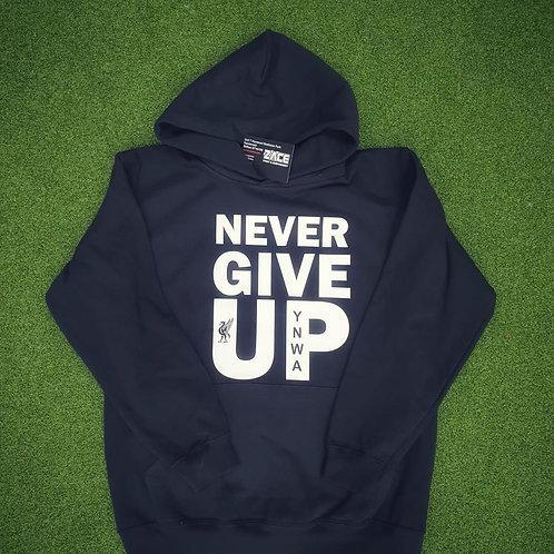 Never Give Up LFC Hoodie - Adult/Ladies/Junior
