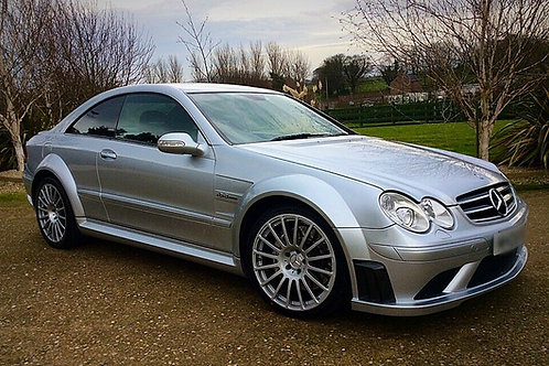 MERCEDES CLK63 AMG BLACK SERIES - 1 OF 120 RHD PRODUCED