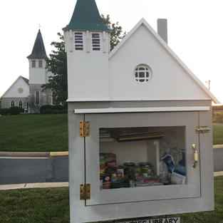 Little Free Library & Blessing Box