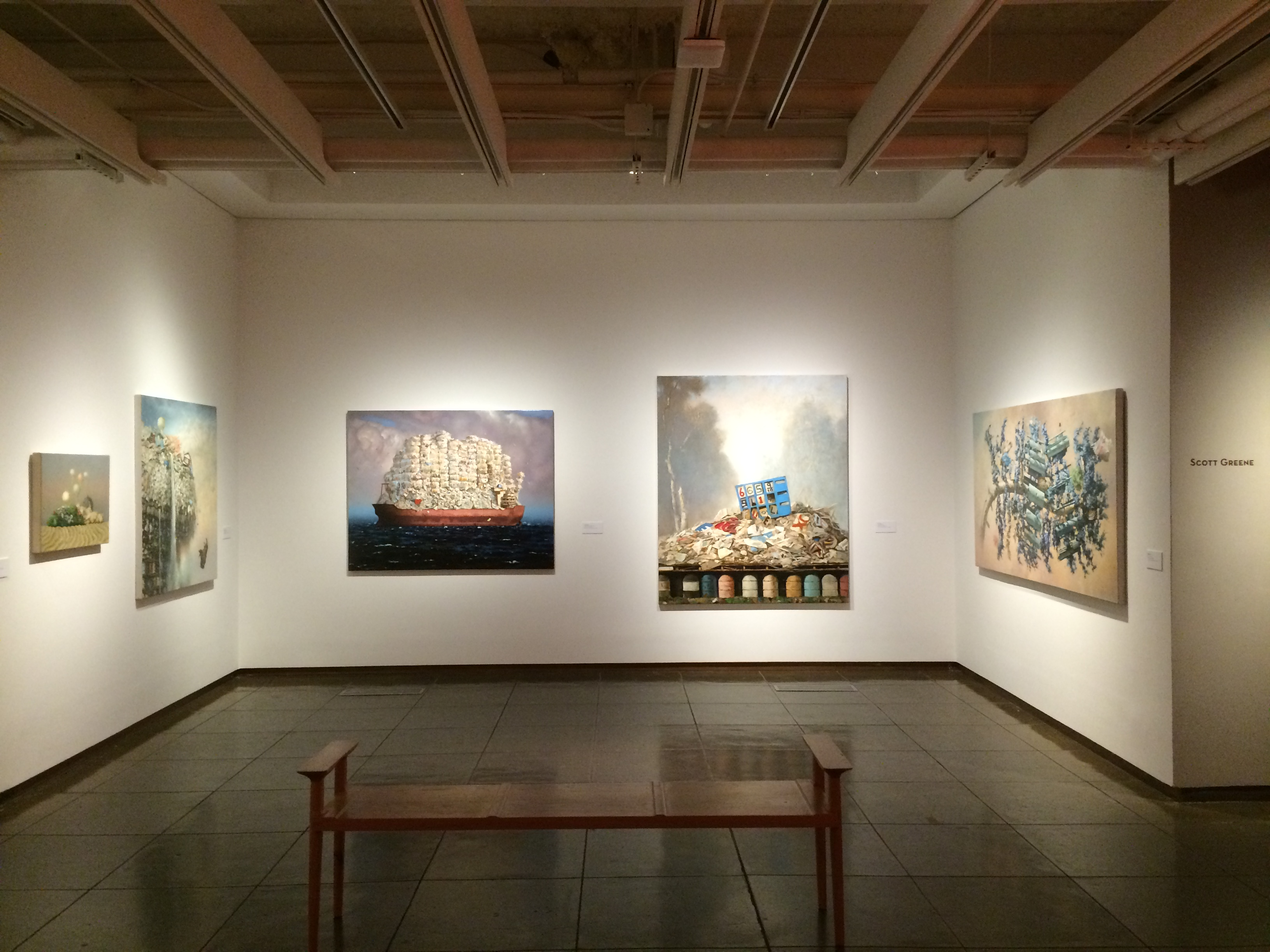 Alcoves, New Mexico Museum of Art