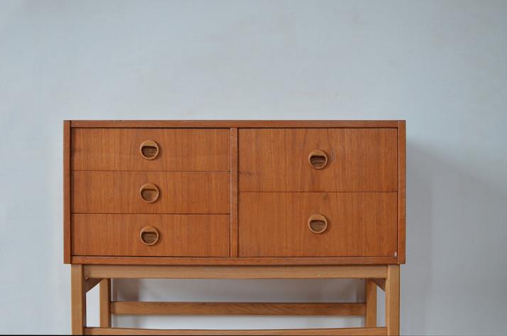 Dressoir kast kastje ladenkast Deens Design Vintage Teak