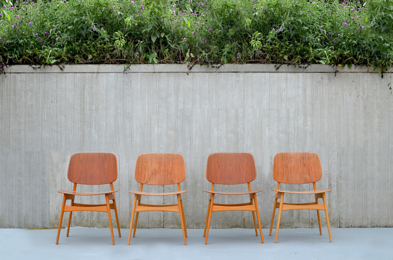 Børge Mogensen shell chair 155
