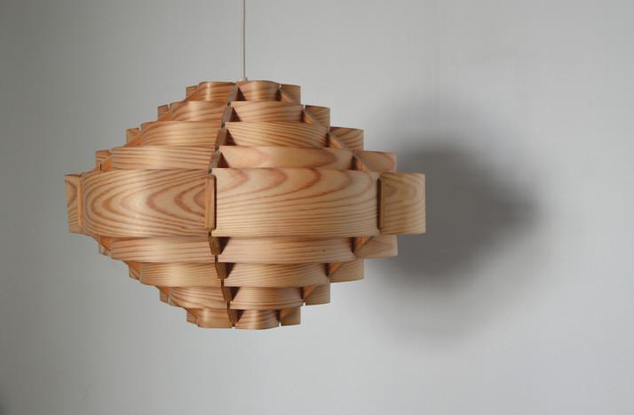 plywood lamp